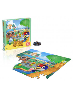 Puzzle Characters (500 piezas) Animal Crossing