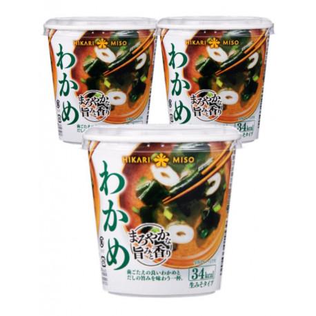 Sopa de miso Hikari algas marinas