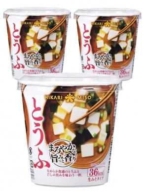 Sopa de miso Hikari tofu