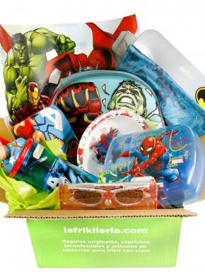Caja Sorpresa para niños con cosas de Marvel