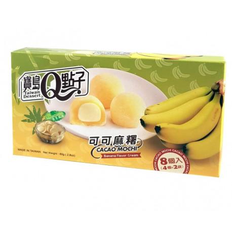 Mochis de plátano y cacao