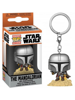 Llavero Mini Funko POP! The Mandalorian Star Wars