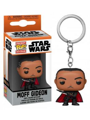 Star Wars The Mandalorian Llaveros Pocket POP! Vinyl Moff Gideon 4 cm