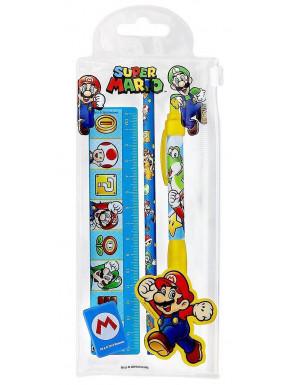 PYR - Set Escolar Nintendo Super Mario