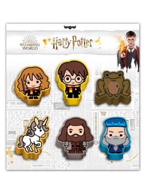 Set de 6 Gomas Wizard Harry Potter