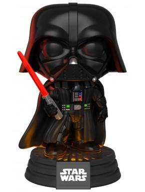 Star Wars Electronic POP! Movies Vinyl Figura con luz y sonido Darth Vader 9 cm