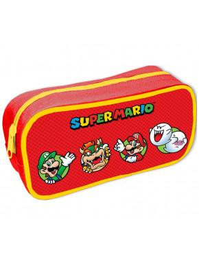 Estuche escolar Super Mario Círculos y Personajes