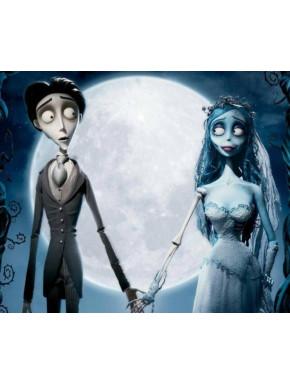 Alfombrilla La Novia Cadaver Tim Burton