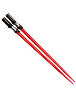 Palillos con luz sable laser Vader