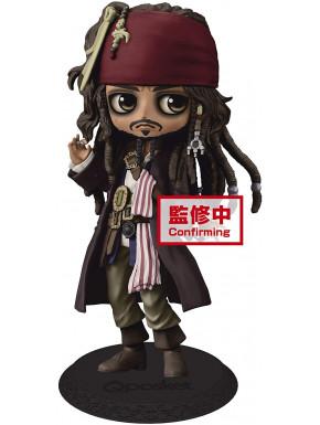 Figura Jack Sparrow Piratas del Caribe Banpresto Q Posket 14 cm