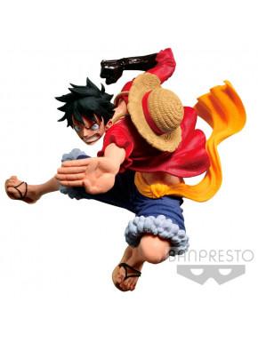Figura Luffy One Piece Banpresto Colosseum 15 cm