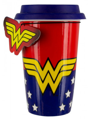 Taza de Viaje Wonder Woman Logo