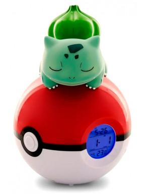 Despertador Lámpara LED Bulbasaur Pokemon