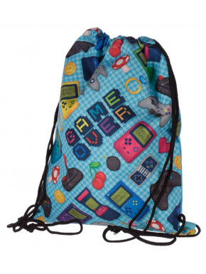 Mochila Saco Game Over Retrogaming