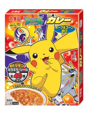 Salsa de Curry Pokemon