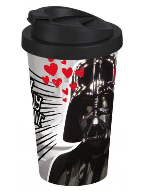 Vaso de Viaje Star Wars Vader Love