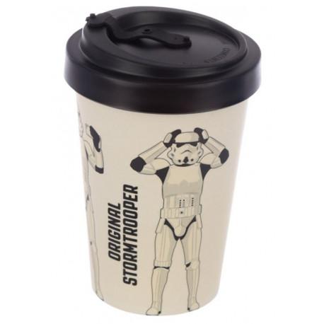 Vaso de Viaje de Bambú Stormtrooper Star Wars