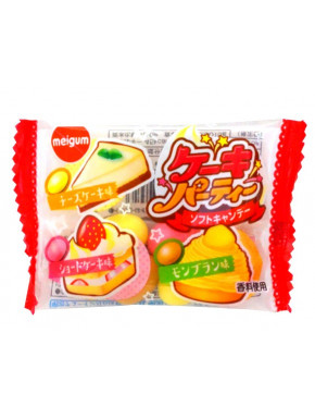 Chicles Sabor Pastel Meiji