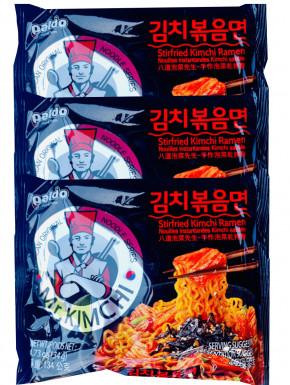 Ramen Coreano salteado con kimchi Paldo