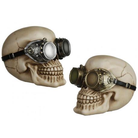 Figura Calavera Gafas de Aviador