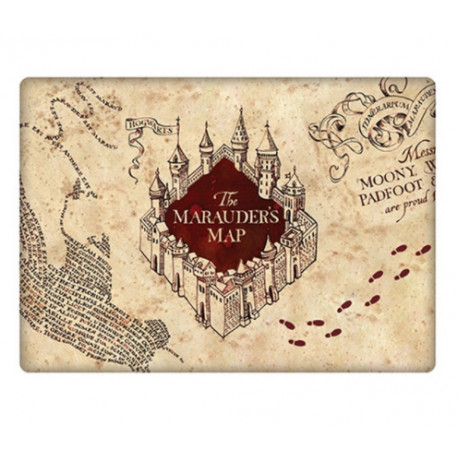 Imán Mapa del Merodeador Harry Potter