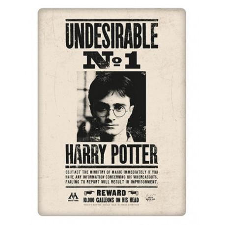 IMAN METAL HARRY POTTER UNDESIRABLE NO1