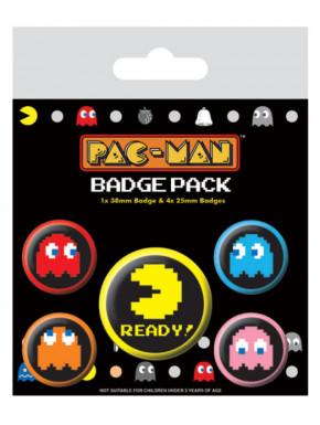 Juego de chapas Pac Man Pixel