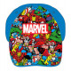 Gorra Infantil Marvel Personajes Azul Claro