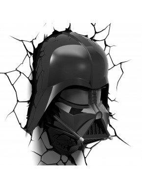 Lampara de pared Darth Vader