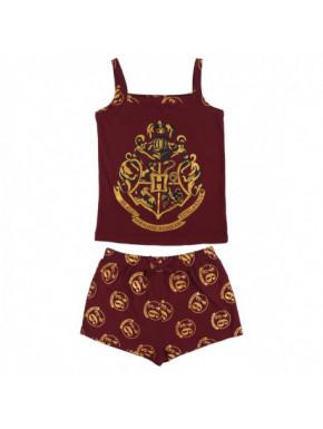 Pijama corto Harry Potter Hogwarts