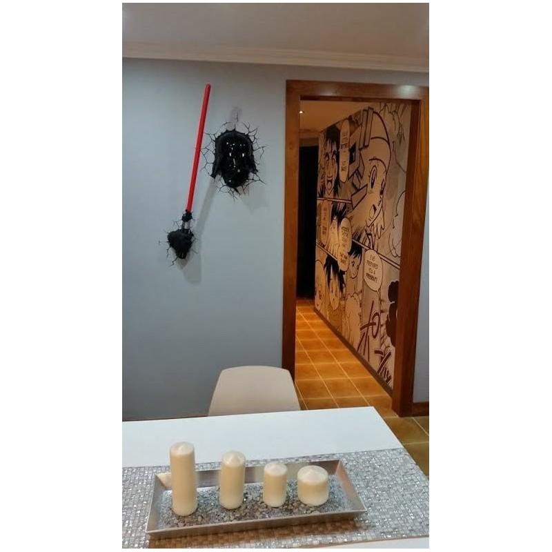 Lampara de pared sable laser vader por solo 44 50 - Lampara de pared ...