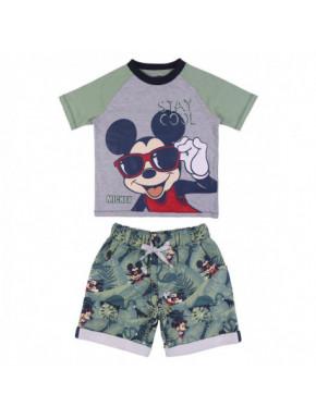 Conjunto 2 piezas tropical Mickey Mouse
