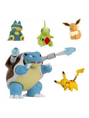Pack de 5 Pokemon de Combate