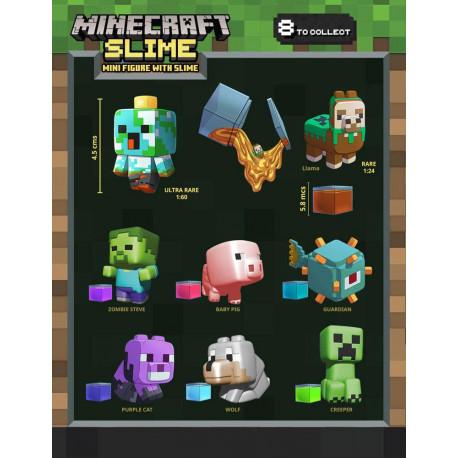 Minifiguras Sorpresa Minecraft con Slime