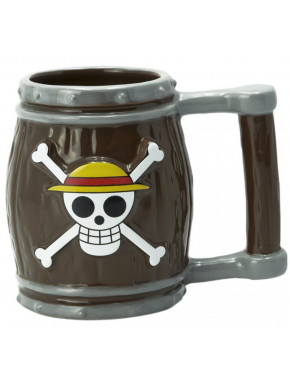 ONE PIECE - Mug 3D - Barrel x2