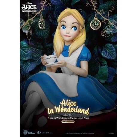 Figura Master Craft Alicia en el País de la maravillas 36cm