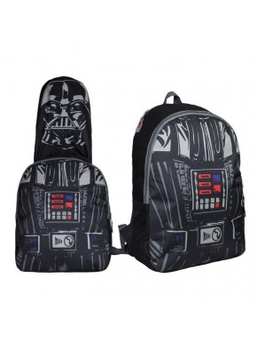 Mochila Star Wars con capucha Darth Vader