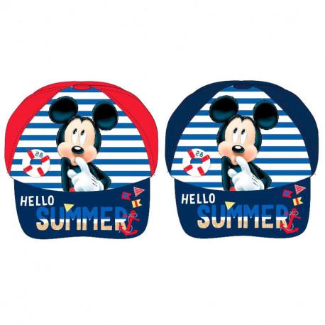 Gorra Niño Mickey Mouse Hello Summer
