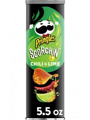 Pringles sabor Chili y Lima Extra Picante