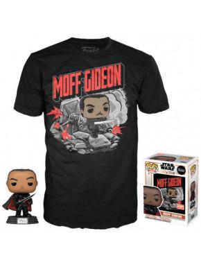 Set de Camiseta y Funko Pop! Moff Gideon The Mandalorian