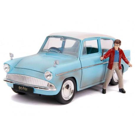 Réplica Ford Anglia con Figura Harry Potter