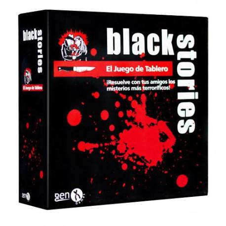 JUEGO DE MESA BLACK STORIES EL JUEGO DE TABLERO