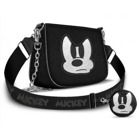 Bolso con Monedero Mickey Mouse Disney Angry