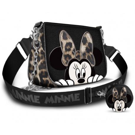 Bolso + Monedero Minnie Mouse