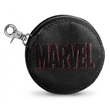 Monedero Marvel Logo Black