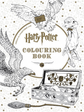 Libro para colorear Harry Potter