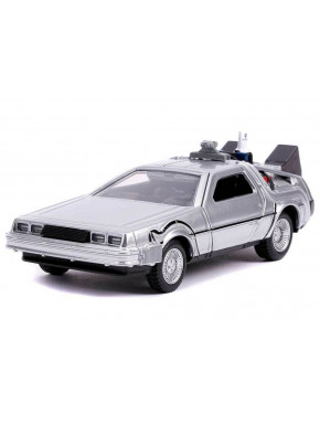 Réplica Delorean 1:32 Regreso al Futuro II Hollywood Rides