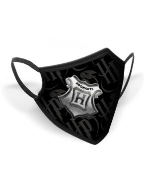 Mascarilla Reutilizable Harry Potter Hogwarts Crest