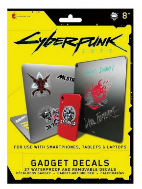 Set de Pegatinas Cyberpunk 2077