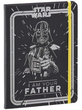 Libreta A5 Star Wars Vader I Am Your Father